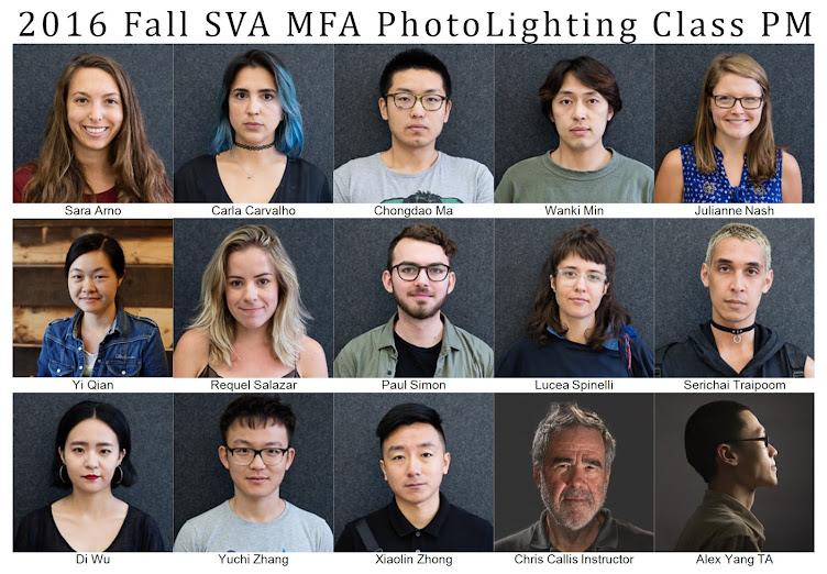 2016 Fall Lighting Class PM