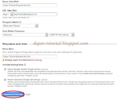 Google Analytics Step 5