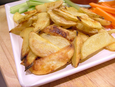 5 Steps to Crispy Oven Roasted Potato Wedges