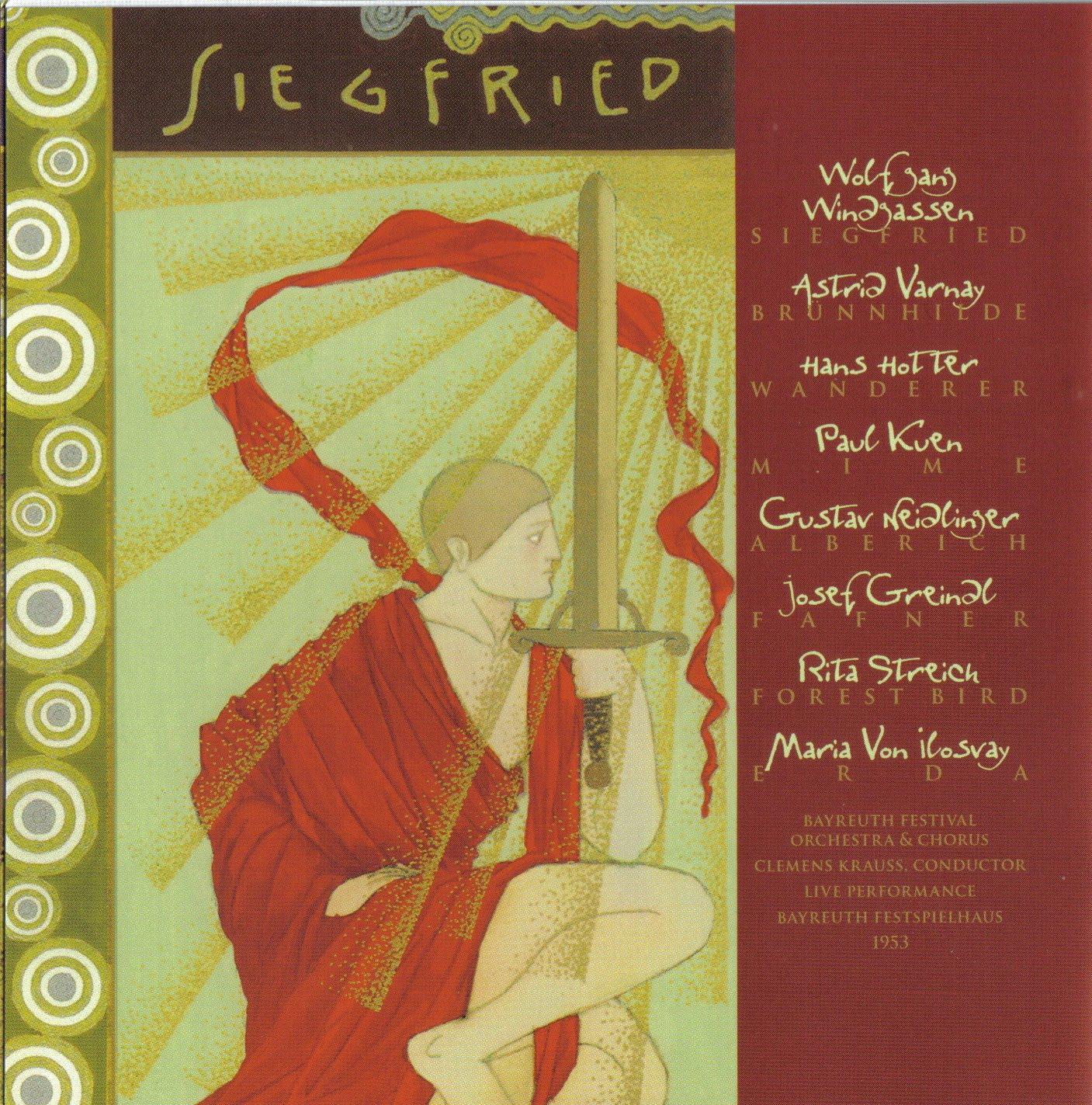 Richard Wagner - Der Ring des Nibelungen (Hans Hotter, Bayreuth 1953) | Siegfried (Sigfrido)