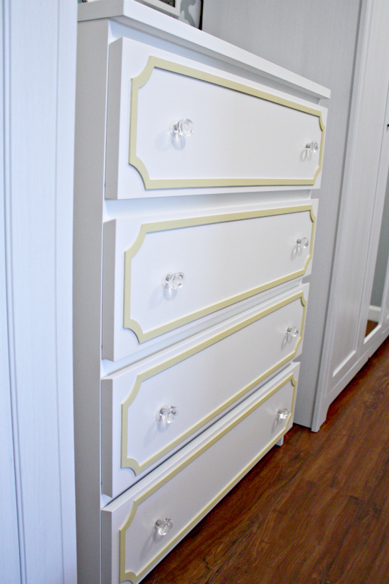 Hemnes Ikea Vitrinenschrank ~ IKEA Malm Dresser Update  House Plans and Home Plans