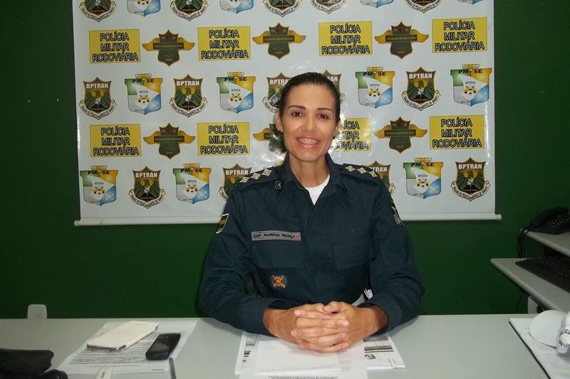 Capitã Patrícia França, Comandante da CPRv.