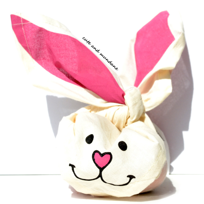 Cute and mundane lush hoppy easter review photos this easter the lush hoppy easter knot wrap is back again filled with fragrant surprises one of these bunnies hopped into my hands thanks to the folks negle Image collections
