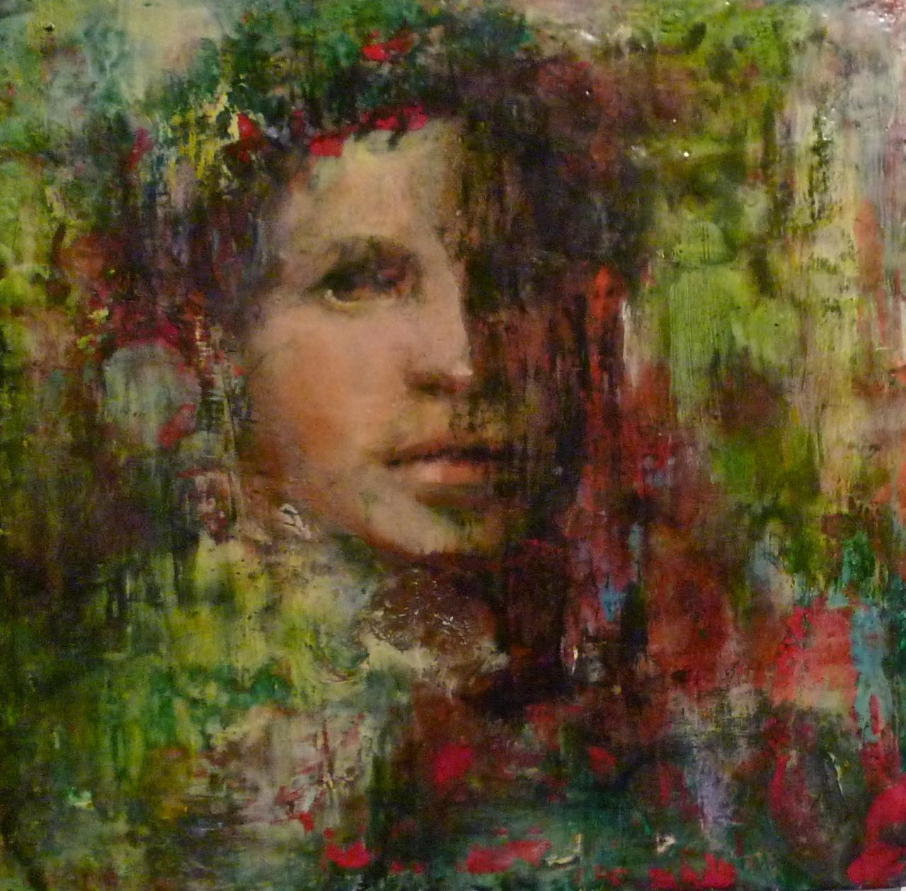 60 Years of Making Art: encaustic over oil