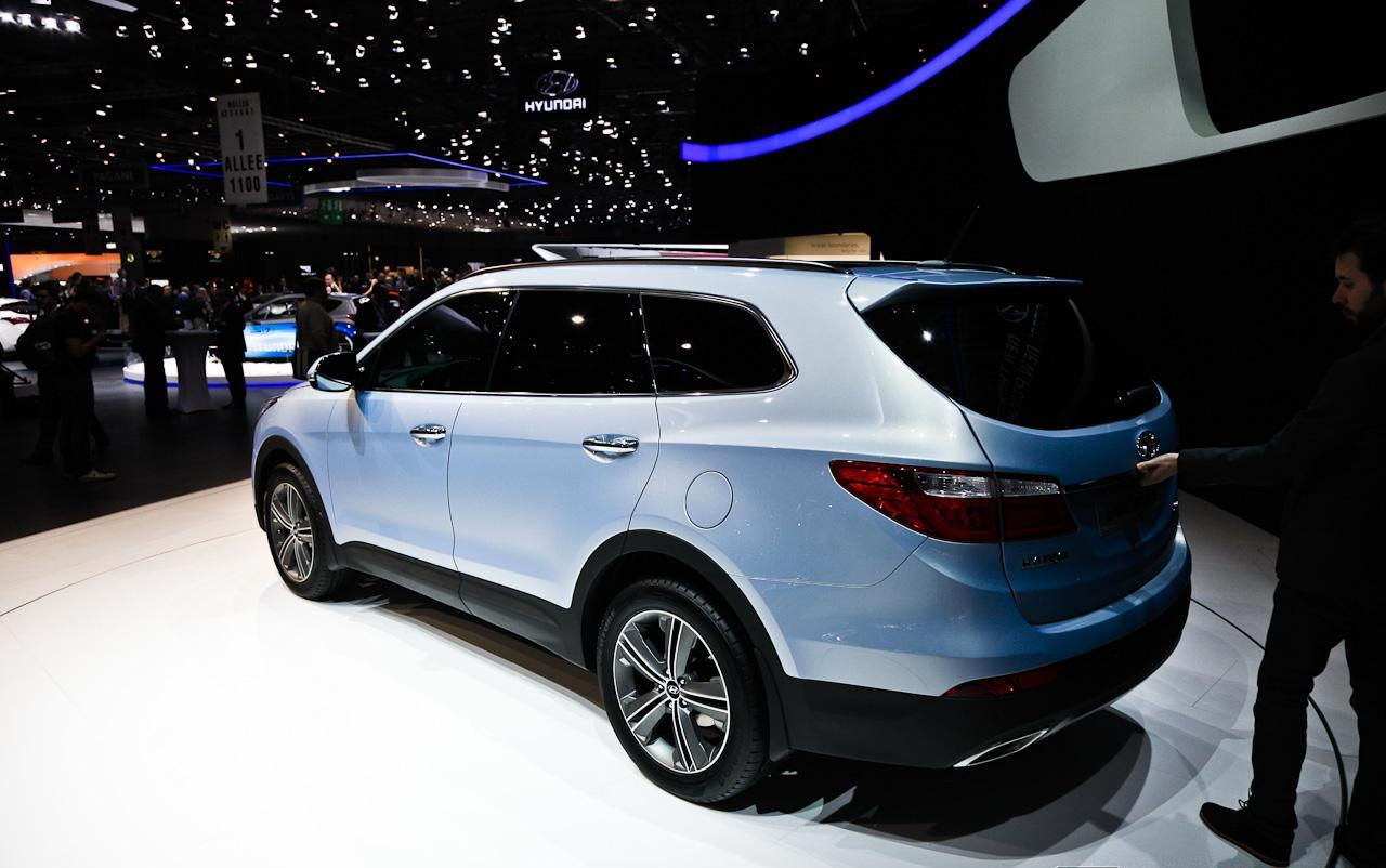 2013 hyundai grand santa fe car specifications automobile stats. Black Bedroom Furniture Sets. Home Design Ideas