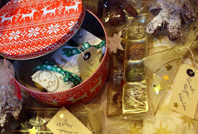 Verpackung Weihnachtspaket
