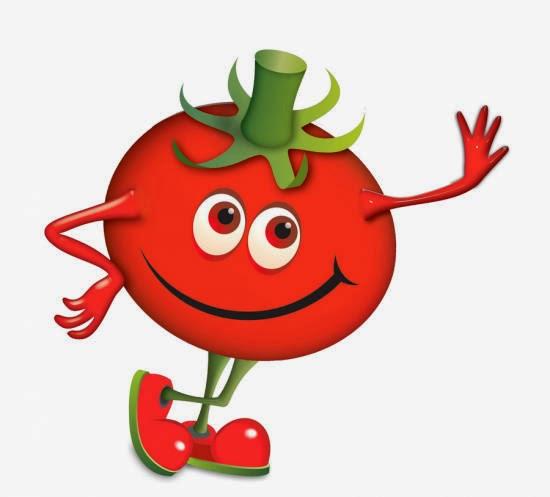 Dibujos para colorear maestra de infantil y primaria dibujos para colorear de frutas y - Tomate dessin ...