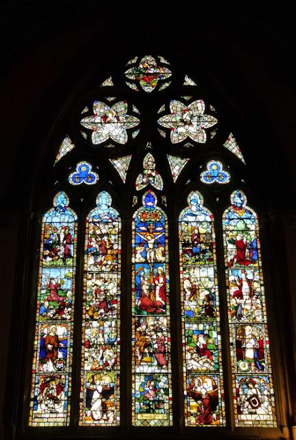 Balliol, Chapel, east window, stained glass