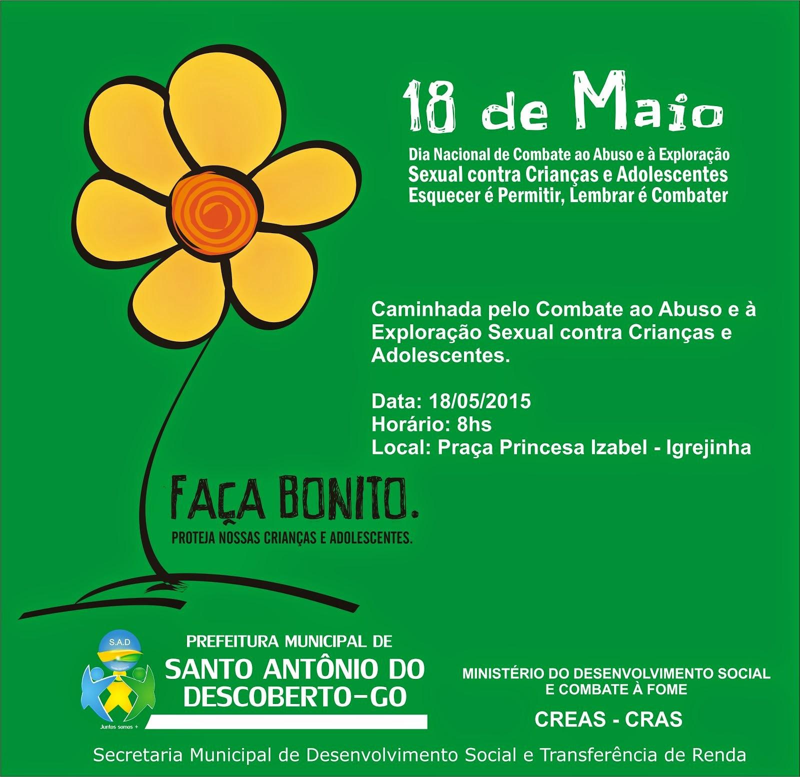 Campanha Dia 18 de maio