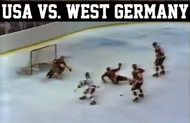 Lake Placid 1980 Winter Olympic Games Miracle on Ice USA vs. West Germany