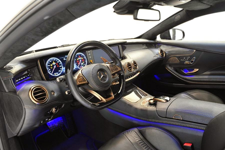 Mercedes-Benz S 63 AMG 4Matic Coupé (Brabus 850 6.0 Biturbo) (2015) Dashboard