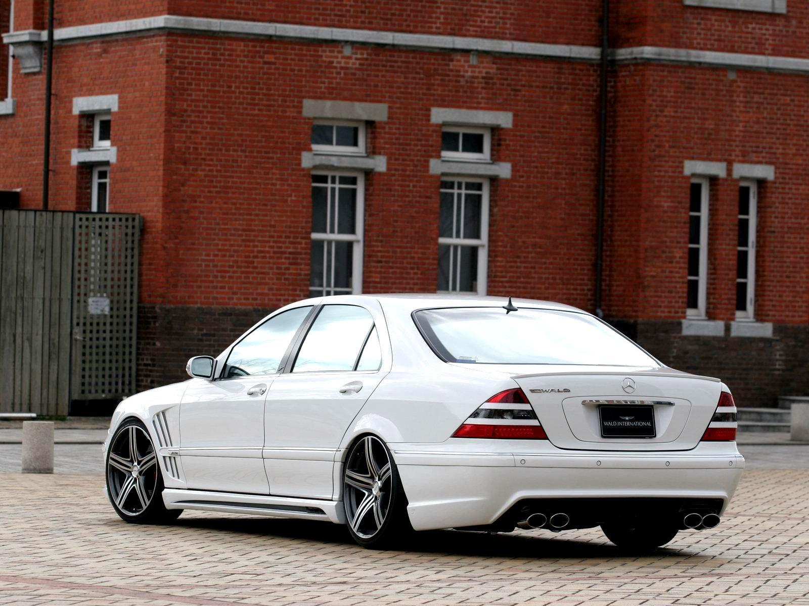 Mercedes W220 Wald 2 Mercedes W220 Tuning