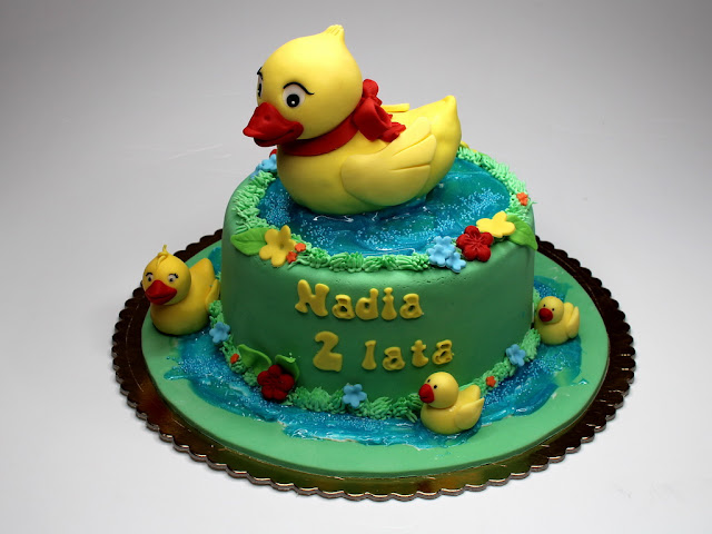 Children Cake with Ducks - London