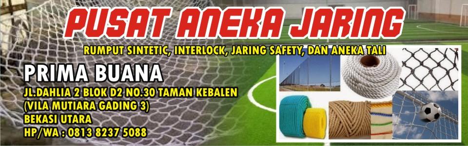 Jual Jaring Futsal / Jaring Proyek / Jaring Golf / Jaring Gawang Murah Berkualitas