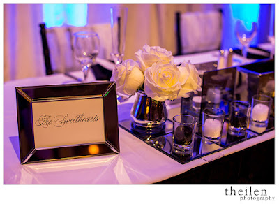 Modern Black and White Sweetheart Table l Theilen Photo l Atlantis Reno l Take the Cake Event Planning