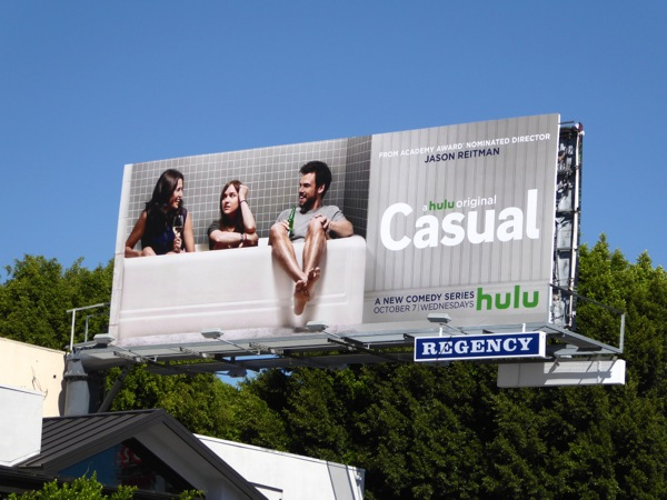Casual Hulu series billboard