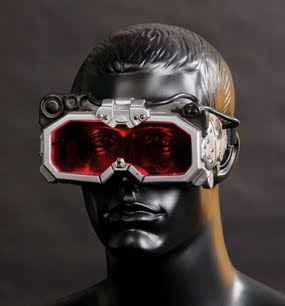 Man with goggles