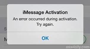 Facetime Activation iOS7