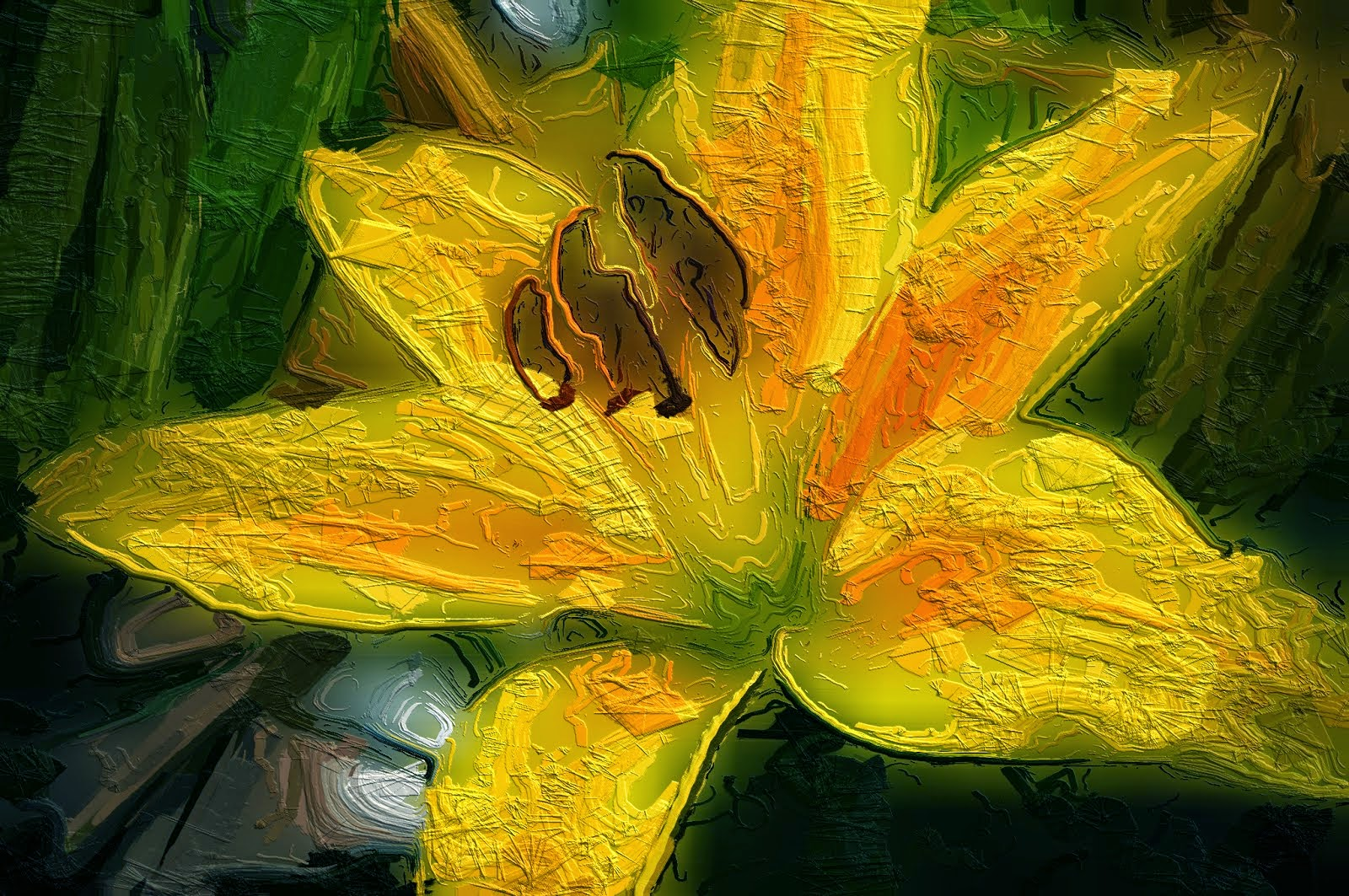 15 beautiful yellow flower free paintings 1 million free pictures abstract yellow flower painting mightylinksfo