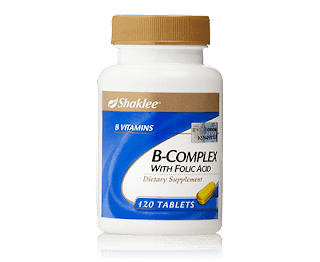 Perbezaan Vitamin B Complex Shaklee