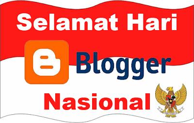 Logo Hari Blogger Nasional. Gambar dari dawaihati.com