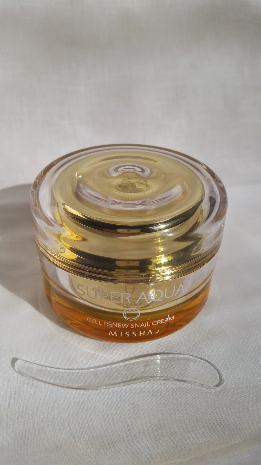 Empties Review: Missha Super Aqua Cell Renew Snail Cream | Holy ...