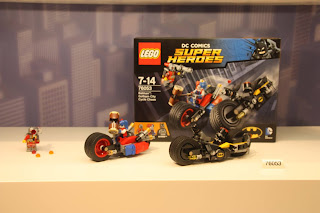 Lego Batman Dc Super Heroes Toy Fair 2016 Set 76053 Gotham City Cycle Chase