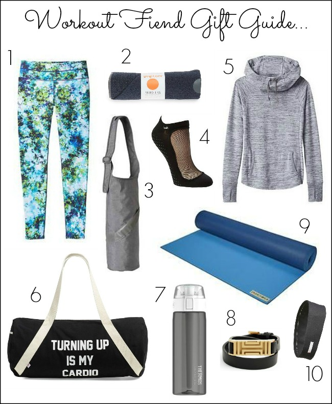 Workout Fiend Gift Guide