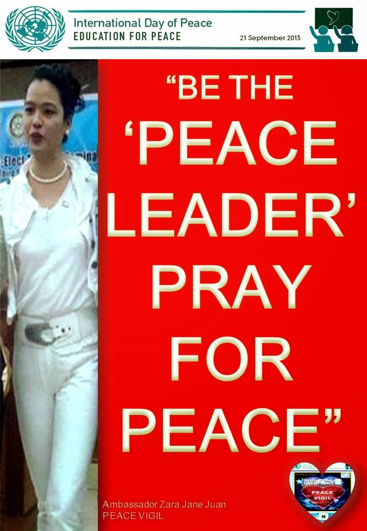 Ambassador Zara Jane Juan leads Prayer for Peace in the Philippines