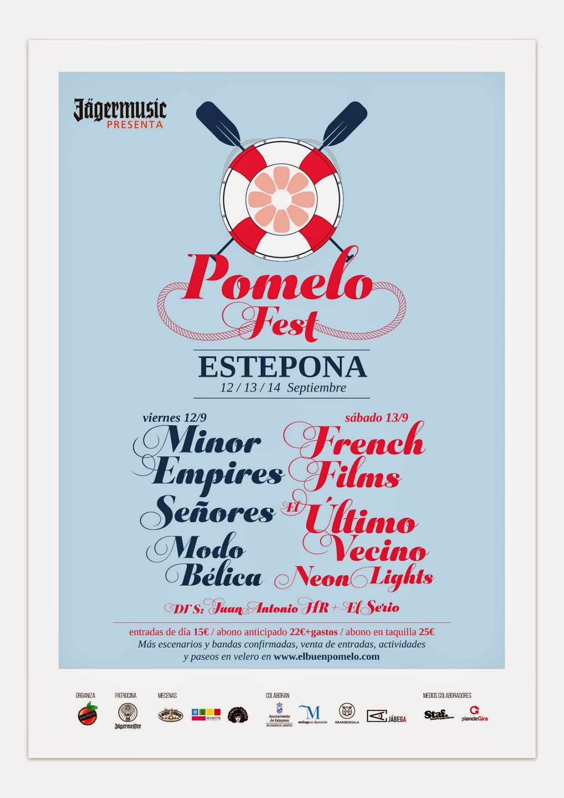 Pomelo Fest 2014 Cartel
