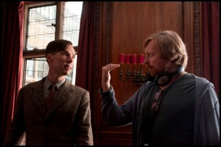 Rodaje de The Imitation Game (Morten Tyldum, 2014)
