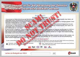 entfernen Austrian Police
