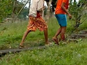 Dois adolescentes infratores que estavam no complexo foram soltos. (Foto: Imagens/Tv Bahia)
