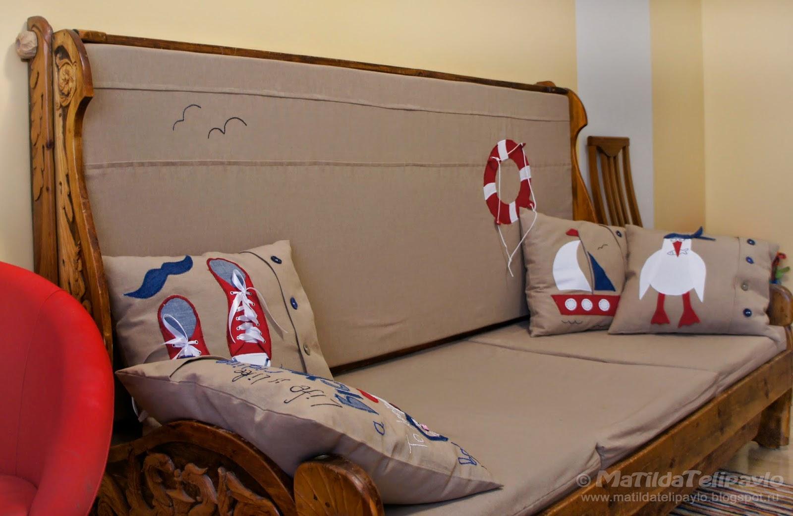 Оригинальные подушки, ручная работа