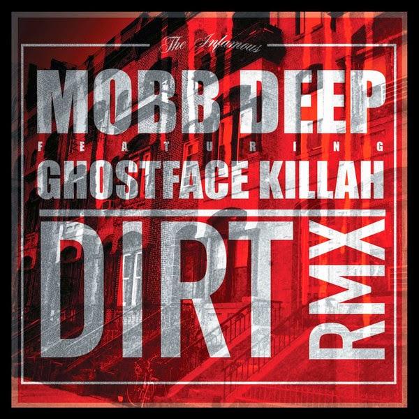 Mobb Deep - Dirt (feat. Ghostface Killah) - Single Cover