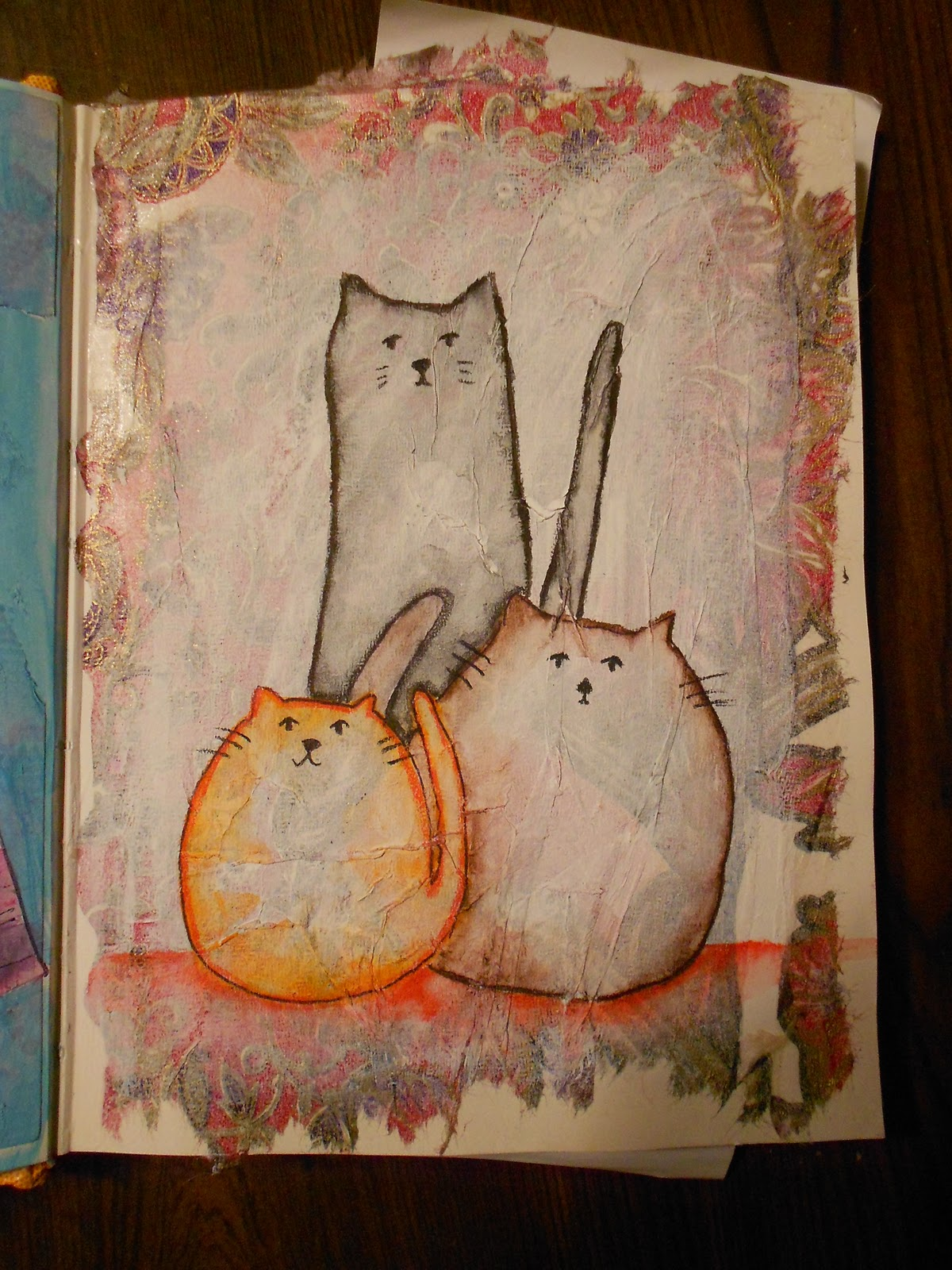 fallingladies fat cats skinny cats cats that sit on your head