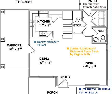 Planos de casas peque as dise o de interiores for Diseno de interiores de casas planos