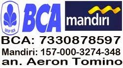 Transfer ke BCA atau Mandiri
