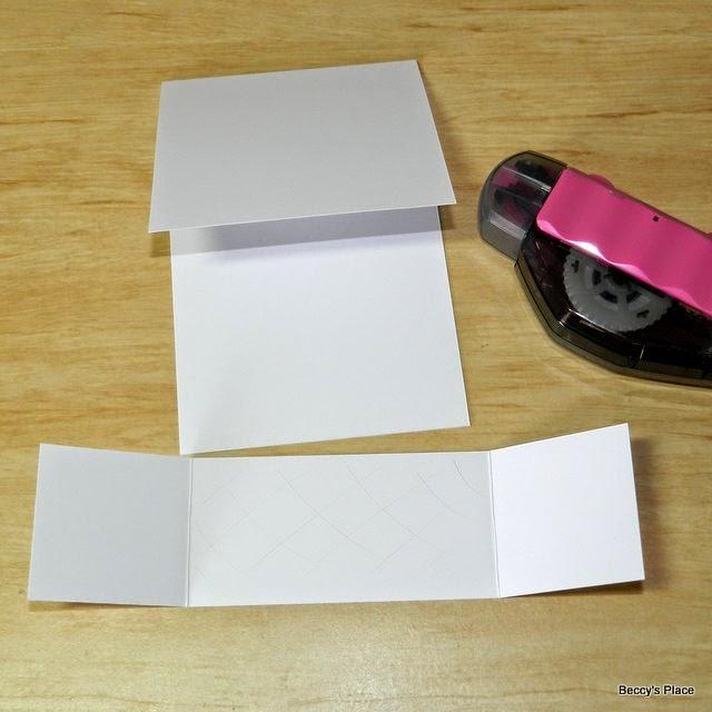 beccy s place tutorial dutch fold card