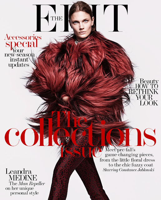 Fashion Model @ Constance Jablonski By Chris Colls For The Edit July 2015