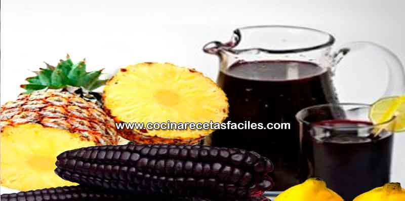 ingredientes de la chicha morada