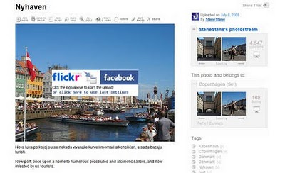 Flickr2facebook untuk sharing foto di flickr ke facebook