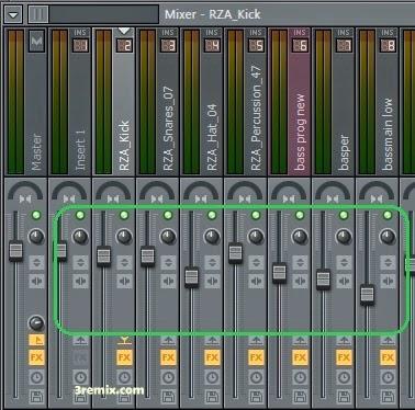 mixing track in fl studio