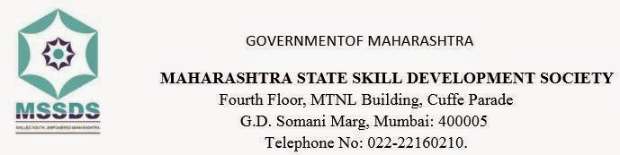 MSSDS Recruitment 2015 Apply online maharojgar.gov.in