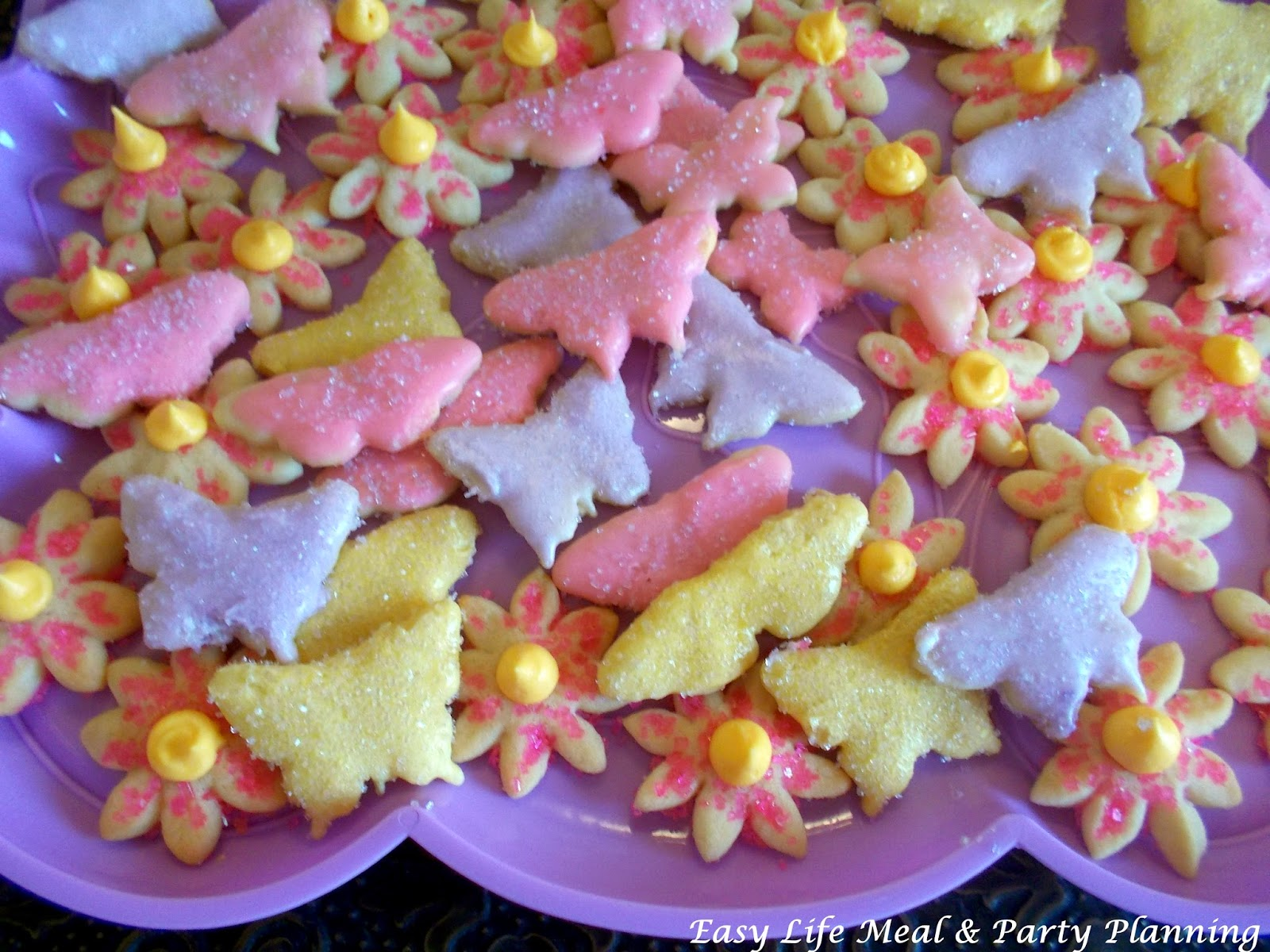 Vanilla sugar Easter Cookies - Easy Life Meal & Party Planning