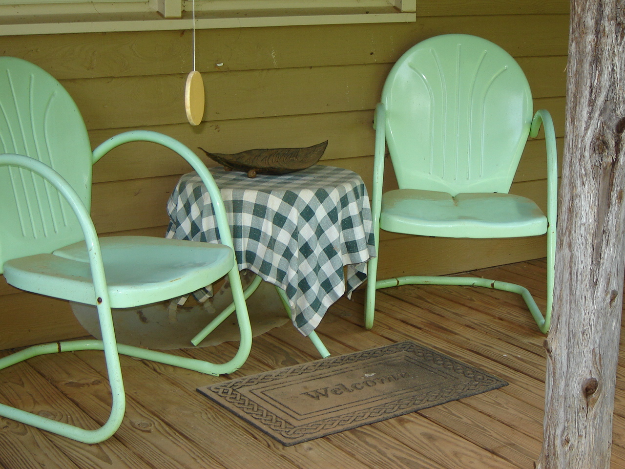 Painted ladder back chairs -  She Needs New Chairs I Have 4 Brightly Painted Ladder Back Chairs Just Waiting For Her But Until Then Her Chairs Remain The Most Inviting Of All