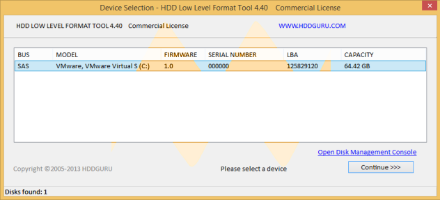 HDD Low Level Format 4.40 Full Serial Keys