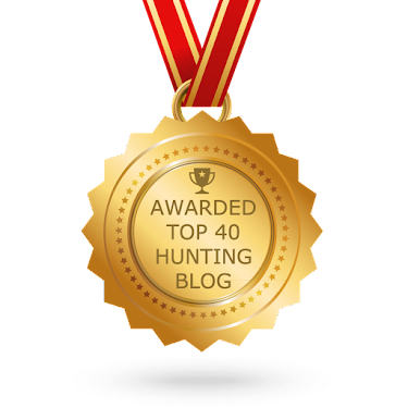 Awarded Top 40 Hunting Blog for 2016