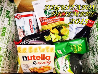 Degustabox Diciembre 2015