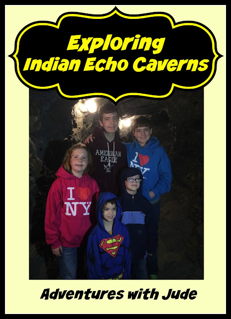 Exploring Indian Echo Caverns